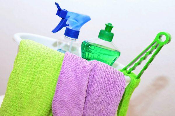 protocole nettoyage produits d'entretien